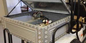 Fuel Cell-Battery Hybrid Powered Golf Cart