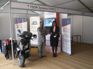 HySA Systems at the Budget Vote Exhibition 2014